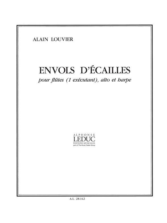 Louvier: Envol d'Ecailles: Flute & Viola: Score and Parts