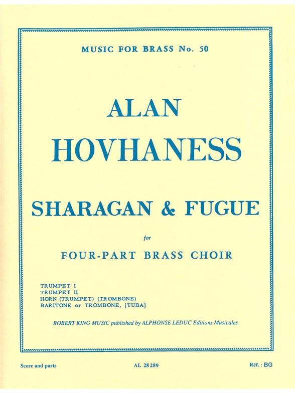 Alan Hovhaness: Sharagan And Fugue: Brass Ensemble: Score and Parts