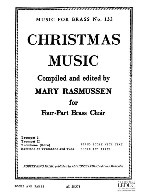 Rasmussen: Christmas Music: Brass Ensemble: Score and Parts