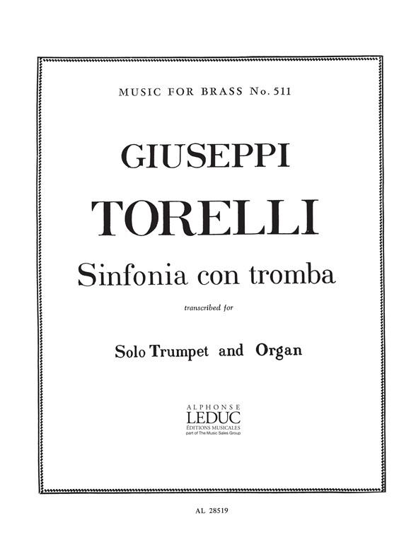 Torelli: Sinfonia Con Tromba: Trumpet: Instrumental Work