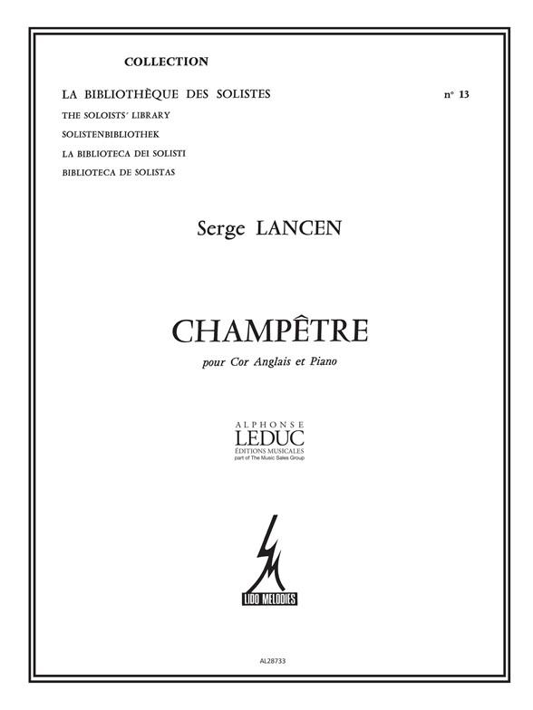 Serge Lancen: Champetre: Cor Anglais: Instrumental Work