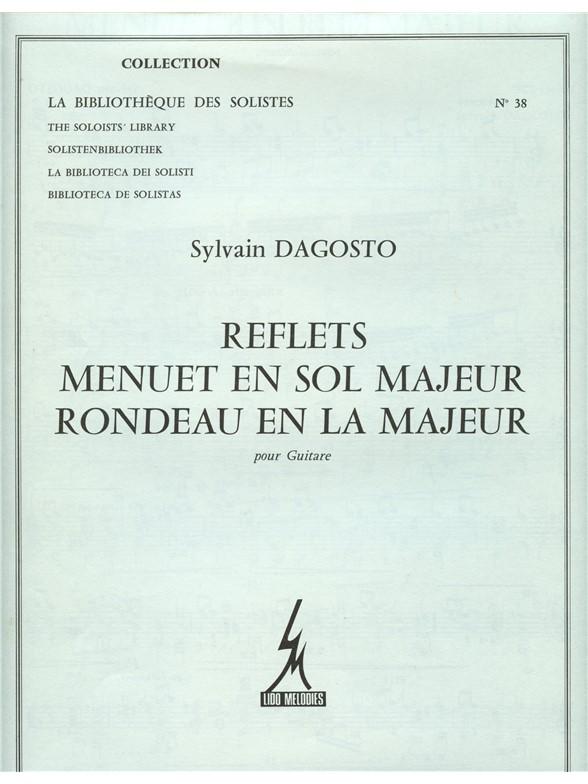 Sylvain Dagosto: Dagosto Reflets Menuet In G Major: Guitar: Instrumental Work
