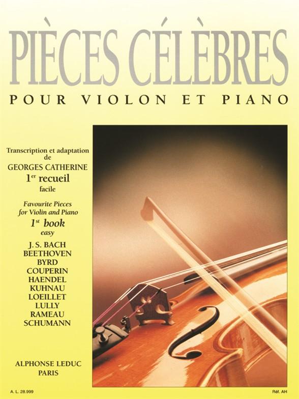 Various Composers: Pieces Célébrés Vol.1: Easy (Violin & Piano)
