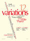 Louis Moyse: 12 Variations sur un Thème de Franz Schubert: Flute: Score