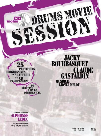 Jacky Bourbasquet Gastaldin: Drums Movie Session 25: Drum Kit: Study