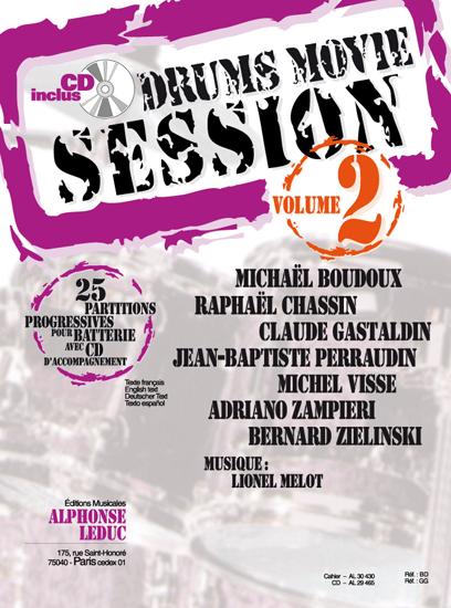 R. Chassin M. Boudoux: Drums Movie Session - Vol. 2 (Drums): Drum Kit: