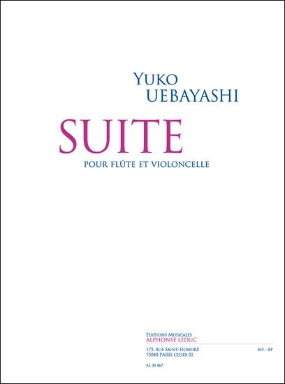 Yuko Uebayashi: Suite pour Flûte et Violoncelle