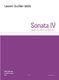Laurent Duvillier-Wable: Sonater IV: String Quartet: Score