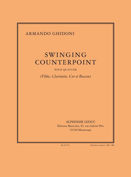 Armando Ghidoni: Armando Ghidoni: Swinging Counterpoint: Wind Ensemble: Score