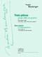 Nadia Boulanger: Three Pieces For Viola & Piano (Originally For Cello). Sheet Music for Viola  Piano Accompaniment