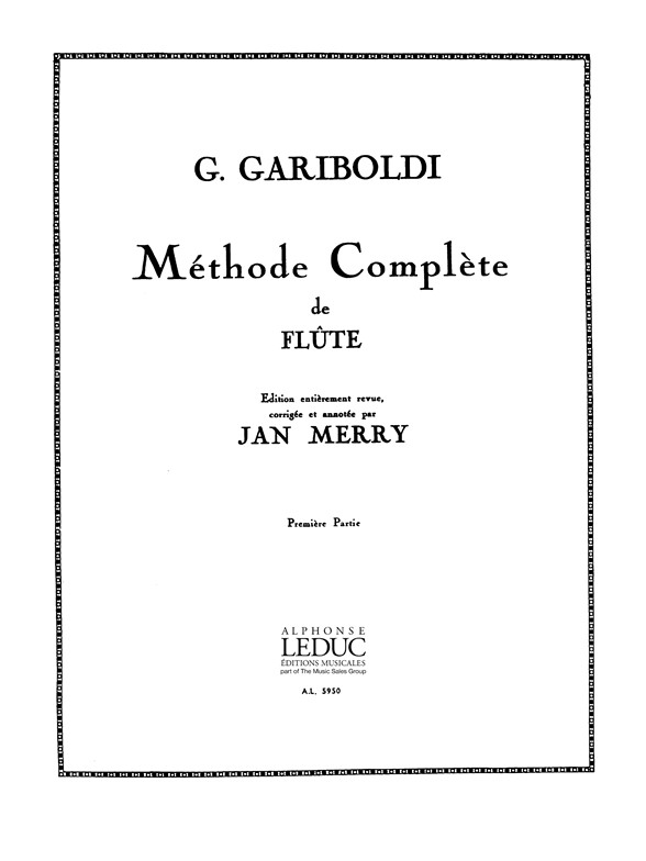 Giuseppe Gariboldi: Methode Complete 1 Op.128: Flute: Instrumental Tutor