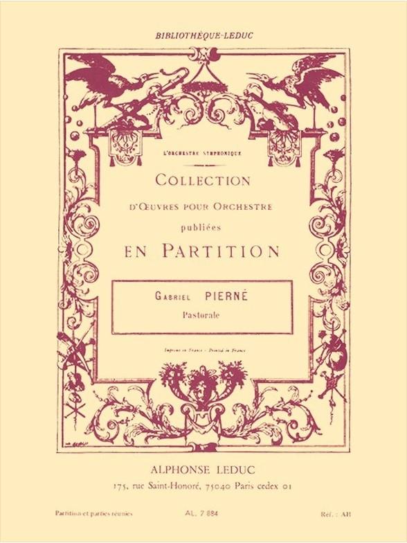 Gabriel Pierné: Pastorale Op.14 (Wind Quintet): Wind Ensemble: Score and Parts