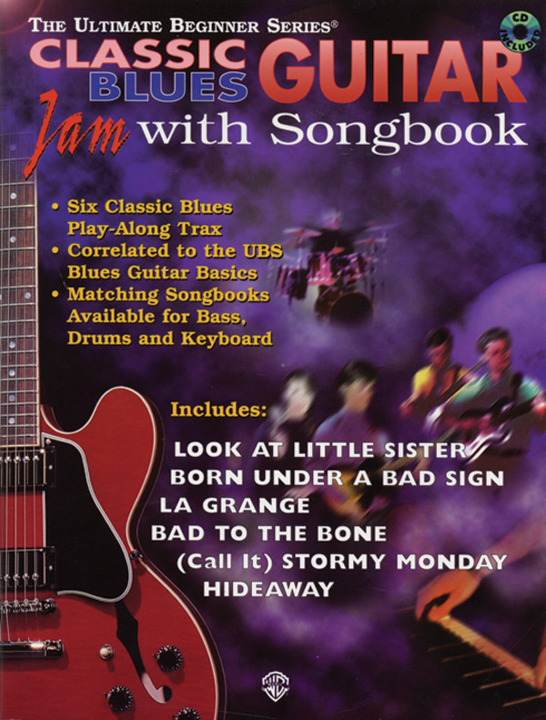 Guitar Jam with Songbook: Classic Blues: Guitar: Mixed Songbook