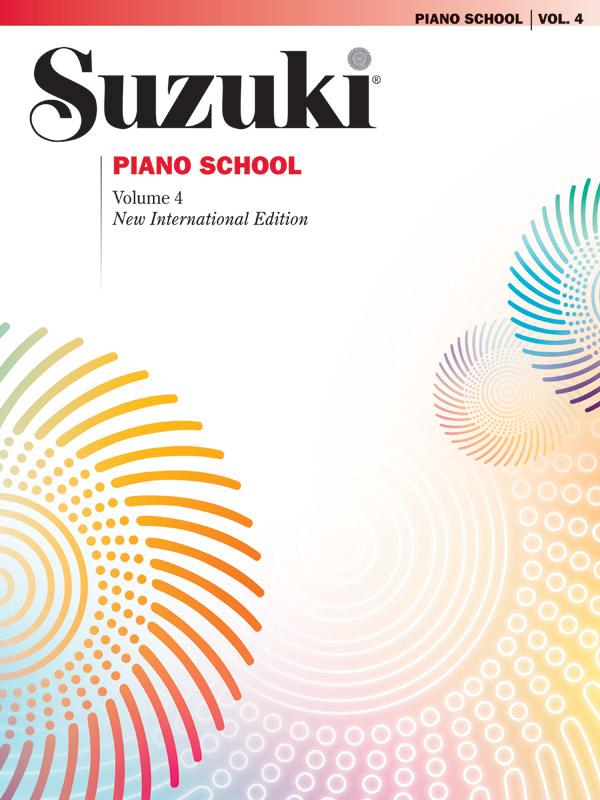 Shinichi Suzuki: Suzuki Piano School 4: Piano: Instrumental Tutor