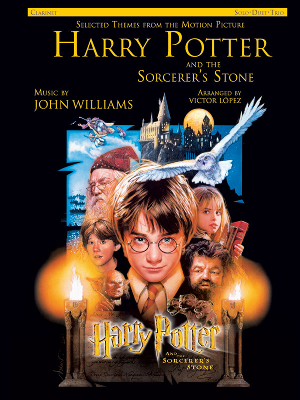 Harry Potter and the Sorcerer's Stone: Selected Themes from the Motion Picture: Clarinet: Solos - Duets - Trios
