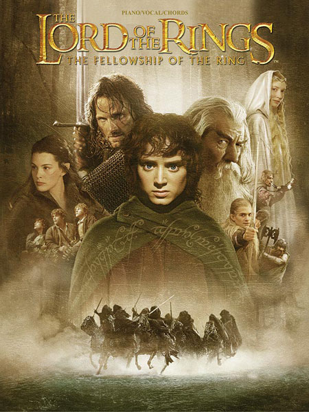Howard Shore: Lord Of The Rings Fellowship Of: Piano  Vocal  Guitar: Album