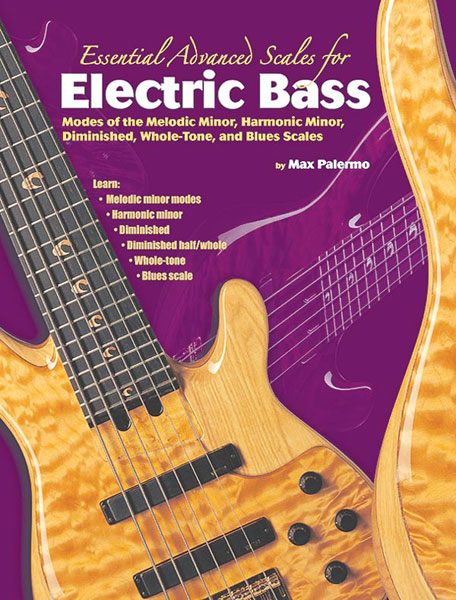 Max Palermo: Essential Advanced Scales for Electric Bass: Bass Guitar:
