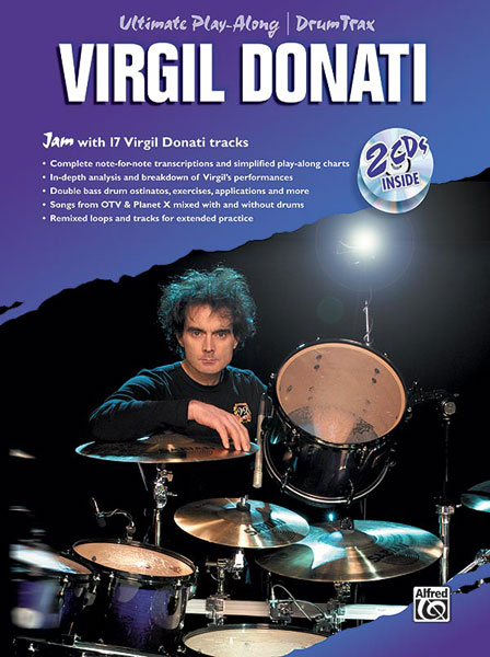 Virgil Donati: Ultimate Drum Play-Along: Drum Kit: Backing Tracks