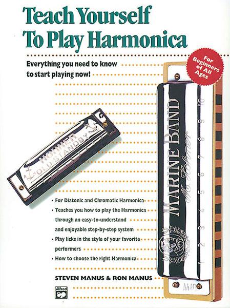 Ron Manus Steven Manus: Teach Yourself To Play Harmonica: Harmonica:
