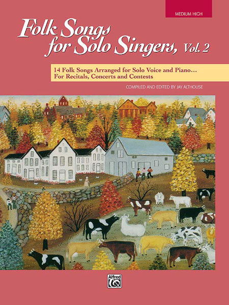 Folk Songs for Solo Singers  Vol. 2: Vocal: Vocal Album