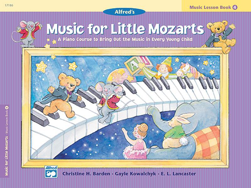 E. L. Lancaster Gayle Kowalchyk Christine H. Barden: Music For Little Mozarts: