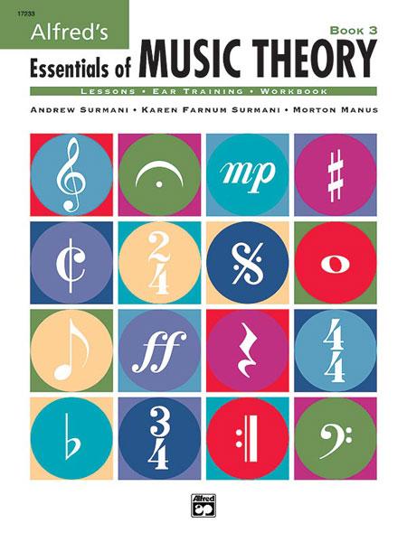 Surmani Surmani Ron Manus: Alfred's Essentials of Music Theory: Book 3: