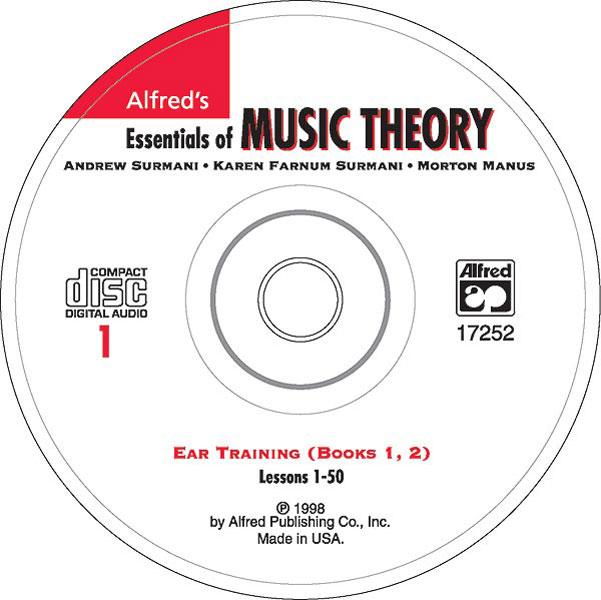Andrew Surmani Karen Farnum Surmani: Essentials of Music Theory: Ear Training CD