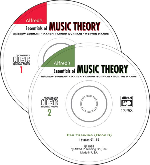 Andrew Surmani Karen Farnum Surmani: Ear Training CDs 1 & 2 Combined: Theory