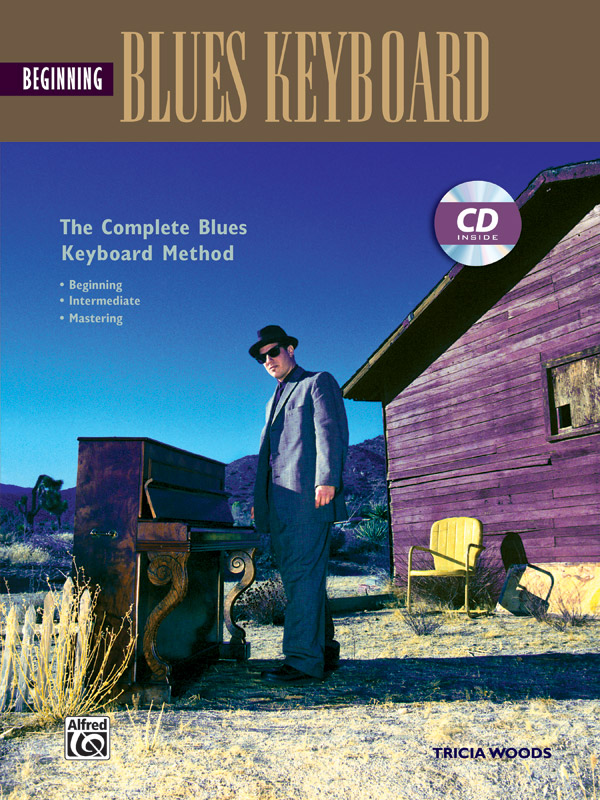 Tricia Woods: Beginning Blues Keyboard: Electric Keyboard: Instrumental Tutor