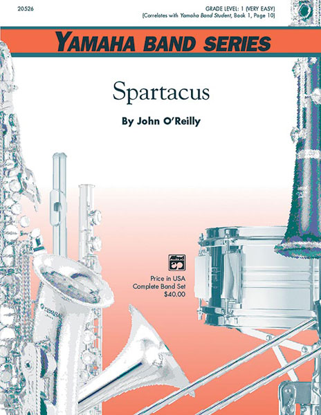 John O'Reilly: Spartacus: Concert Band: Score and Parts
