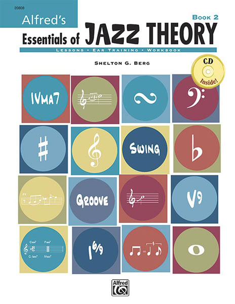 Shelly Berg: Alfred's Essentials of Jazz Theory  Book 2: Instrumental Tutor