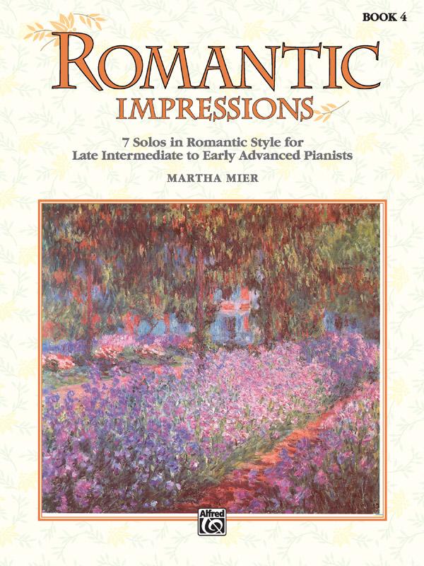 Martha Mier: Romantic Impressions 4: Piano: Instrumental Album