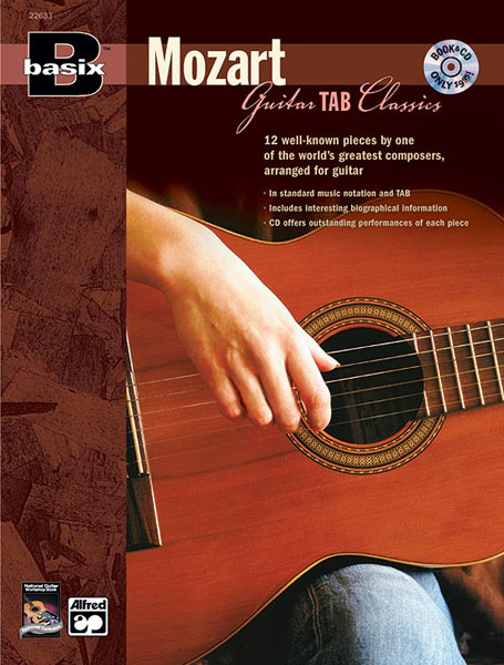 Wolfgang Amadeus Mozart: Basix Guitar Tab Classics: Guitar: Instrumental Album