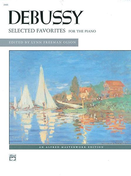 Claude Debussy: Selected Favorites: Piano: Instrumental Album