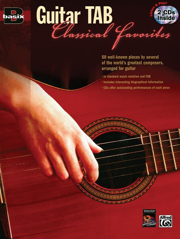 Basix Guitar TAB Classical Favorites: Guitar: Instrumental Work