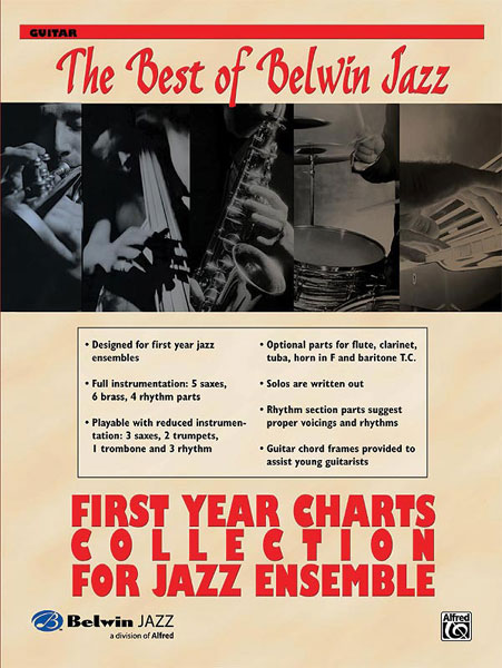 First Year Charts Collection for Jazz Ensemble: Jazz Ensemble: Instrumental