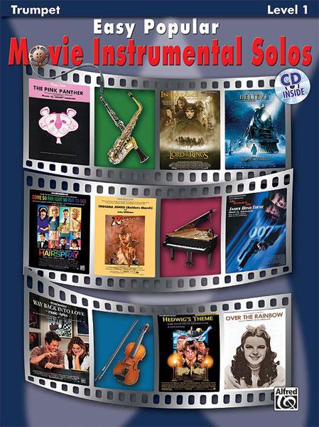 Easy Popular Movie Instrumental Solos: Trumpet: Mixed Songbook