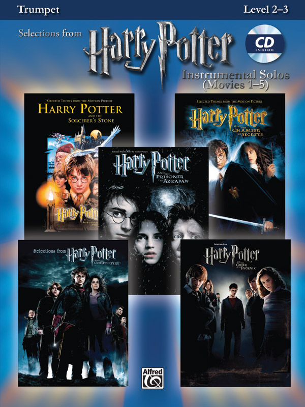 Harry Potter Instrumental Solos Movies 1-5: Trumpet: Instrumental Album