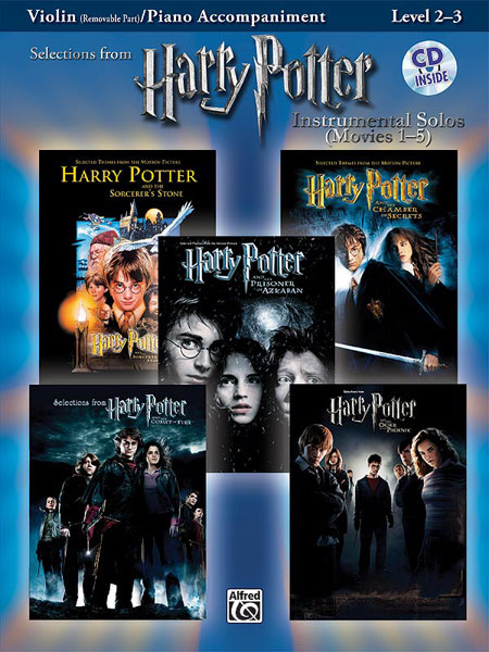 Harry Potter Instrumental Solos Movies 1-5: Violin: Instrumental Album