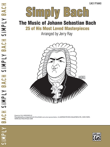 Johann Sebastian Bach: Simply Bach: Piano: Artist Songbook