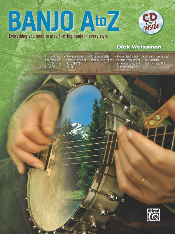 Dick Weissman: Banjo A to Z: Banjo: Instrumental Tutor