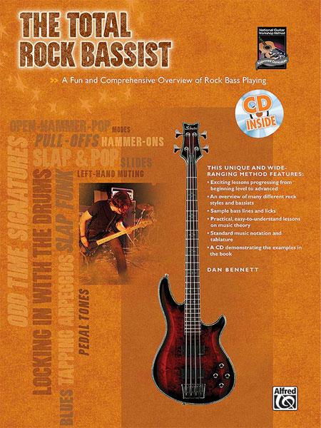 Dan Bennett: The Total Rock Bassist: Bass Guitar: Instrumental Tutor