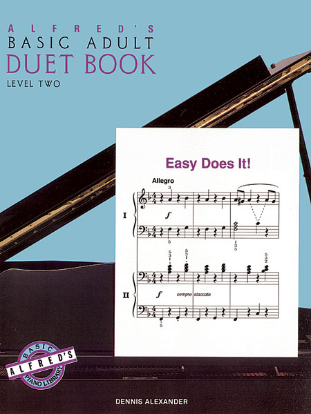 Dennis Alexander: Alfred's Basic Adult Piano Course Duet Book 2: Piano: