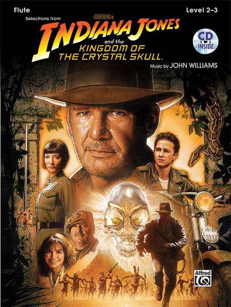 John Williams: Indiana Jones and The Kingdom Of The Crystal Skull: Flute: