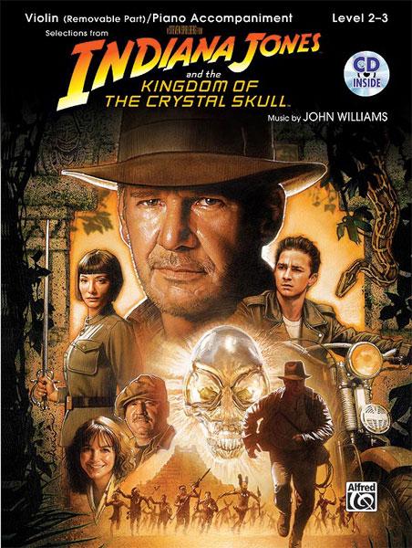 John Williams: Indiana Jones & Kingdom Of The: Violin: Instrumental Album