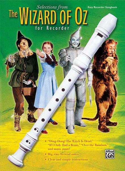 The Wizard of Oz for recorder: Descant Recorder: Instrumental Album