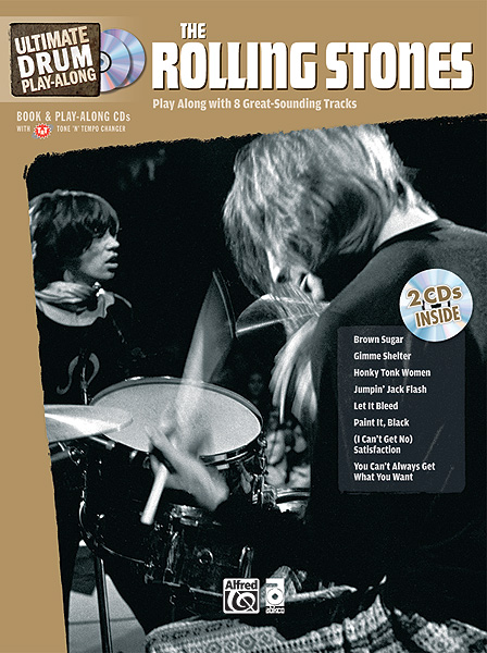 The Rolling Stones: Rolling Stones: Ultimate Drum Play-Along: Drum Kit: