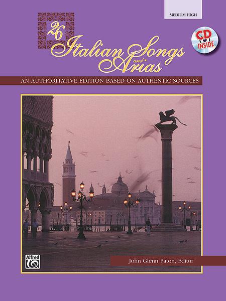 26 Italian Songs and Arias: Medium Voice: Vocal Album