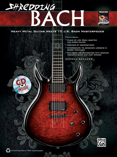 German Schauss: Shredding Bach: Guitar: Instrumental Tutor