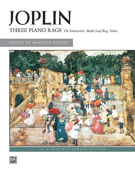Scott Joplin: Piano Rags(3): Piano: Instrumental Album